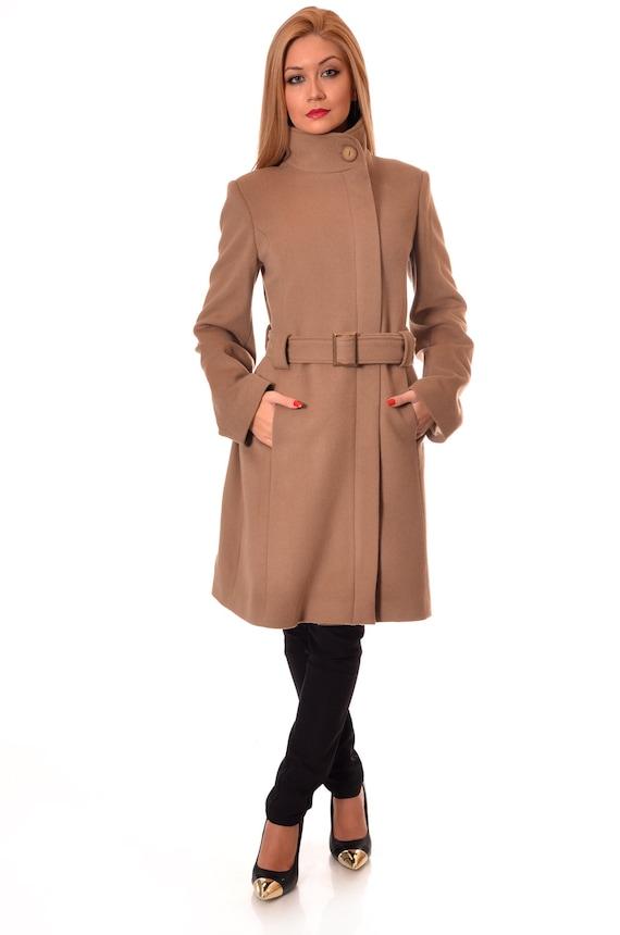 Camel Wool Coat Winter Coat Women Womens Wool Coat Warm