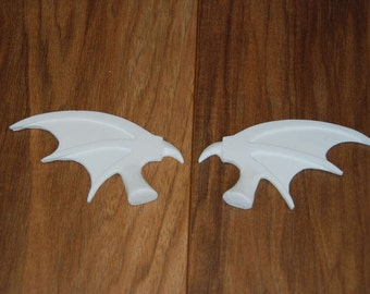 Resin Bat Wings/ Bat Wings/ Wings (raw cast/ unpainted)