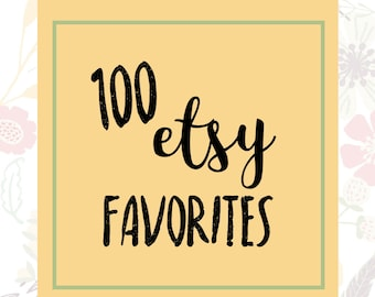 100 Etsy Favorites - Etsy Shop Listing - Etsy SEO - SEO Help - Shop Promotion - SEO Listing - Etsy Relevancy - Listing Help - Etsy Favorites