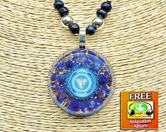 Orgonite Necklace -  Orgonite Pendant for Focus, Intuition, Imagination, Spirituality & Psychic Powers Boost. Orgonite, Orgonite jewelry