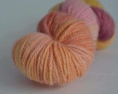 Rainbow Chard ~ Maya (worsted weight) ~ 100% Blue Faced Leicester Wool ~ 202 yards