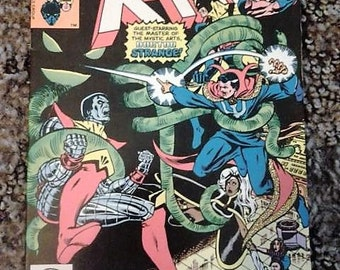 Xmen annual 4//1980//marvel comics//doctor strange//vf-nm condition