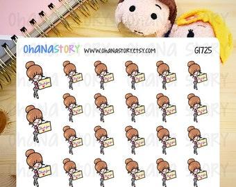 Janine FEELS THANKFUL Planner Stickers (G1725)