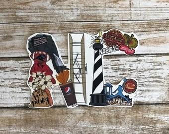 NC Sticker NC Decal North Carolina Sticker North Carolina Decal Nc Art Nc Home Nc Car Sticker NC Laptop Sticker