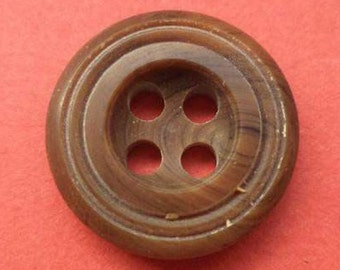 11 buttons Brown 16mm (3929) shirt buttons