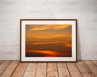 "Sunset photography, Ile de Ré, travel photography, French Atlantic Coast, Always the sun, 20 cm x 30 cm, 8"" x 12"""
