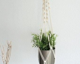 """Modern macrium flower Light 100 cm/modern Macrame plant Hanger 39 """""""