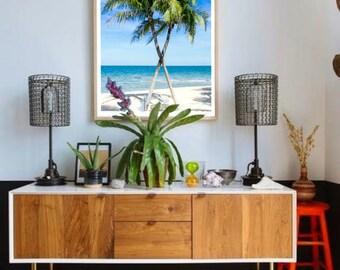 Palm Tree Print, Beach Print, Palm Wall Print, Ocean Print, Palm Tree Part 33