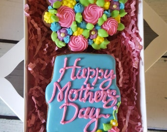 Mother's Day Sugar Cookie Gift Set