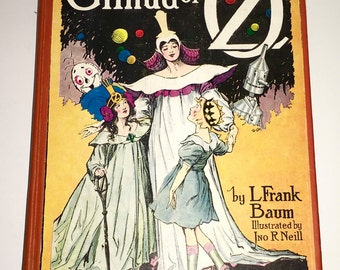 Glinda Of Oz L. Frank Baum Reilly & Lee Chicago Book