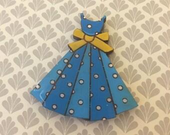 Pretty little dress brooch