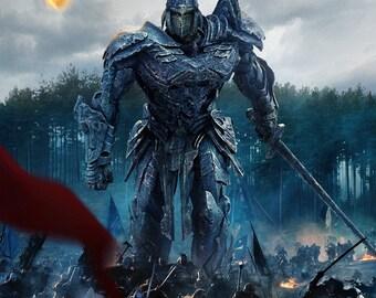 Transformers: The Last Knight Medieval Samurai movie poster