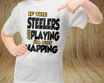 Green Bay Packers Playing I'm not Napping Tee Shirt For Boys Girls Toddlers Size 2T 3T 4T 4 5 6 7 8