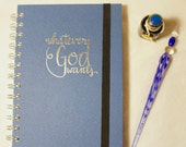 Catholic Journal - Dot grid, wire-O bound notebook