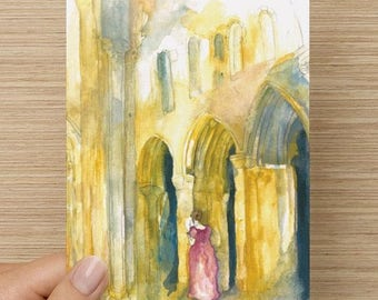Northanger Abbey Greeting Card