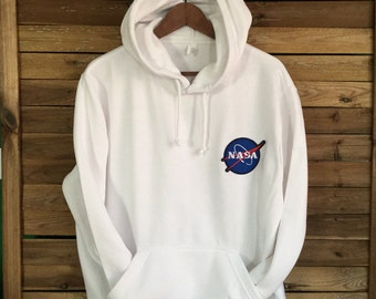 Sudadera NASA Sweatshirt Hoddie USA Patched Patch