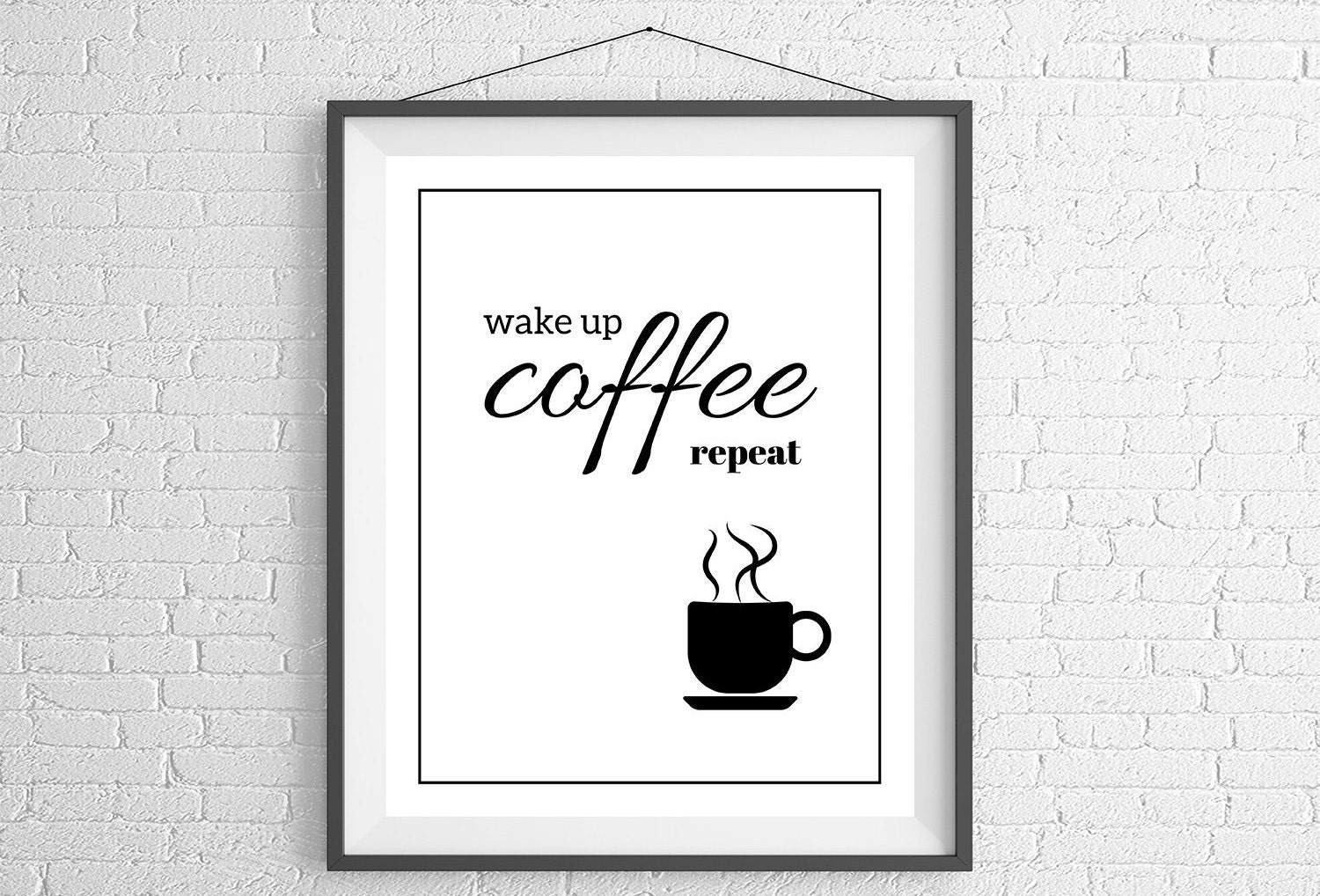 Coffee Quotes Funny Funny Coffee Print Quote Prints Coffee Art Coffee Quotes