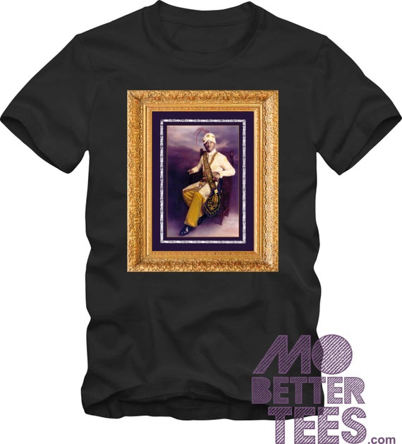 Prophet Noble Drew Ali Portrait T-Shirt black