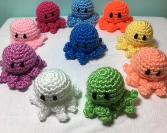 Adorable Extra Small Octopus (VARIOUS COLORS)
