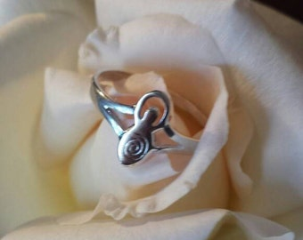 Silver ring Mother Goddess-wiccan jewelry-wicca-pagan wiccan pagan witch-goddess-jewelry-