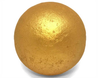 XL 24K Gold Bath Bomb! - Luxury Golden Bath Fizzie, Relaxing Spa Gifts, High Quality Handmade Bath Bombs, (pick scent and size)