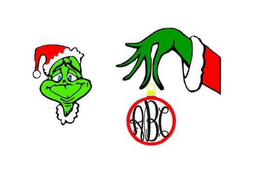 The Grinch who Stole Christmas SVG Cut Files by InsaneGraphics