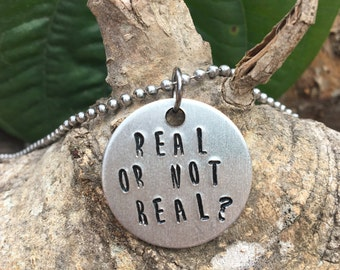 Real or not real necklace