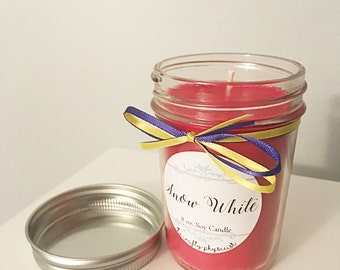 Snow White 8oz Soy Candle