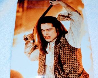 Rare Brad Pitt Interview With a Vampire 8 x 10 Promo Photo Print