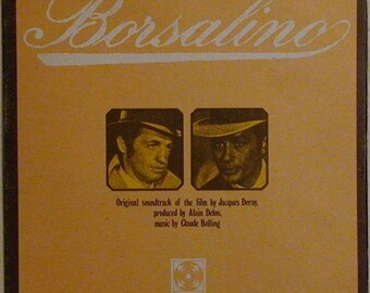 BORSALINO Soundtrack Vinyl LP
