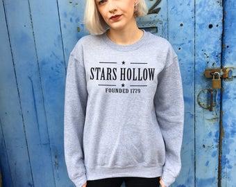 Stars Hollow, Gilmore Girls | Grey Sweatshirt/Jumper
