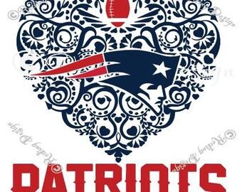 Football New England Patriots Digital Cut Files