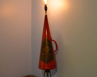 Vintage Minimax Fire Extinguisher Lamp