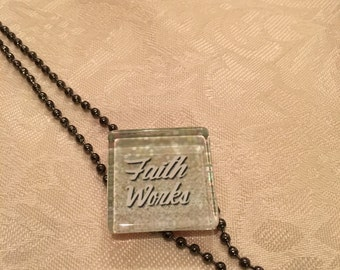 Not Just Words Necklace 'Fatih Works'