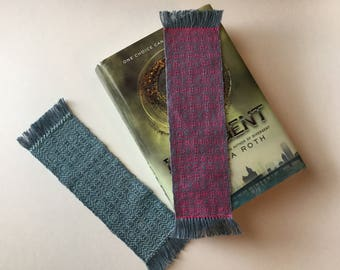 Handwoven bookmarks | Cotton Fabric Bookmarks | Book Lover Gifts | Teacher Gifts | Christmas Gifts