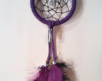 Purple Fairy Dreamcatcher