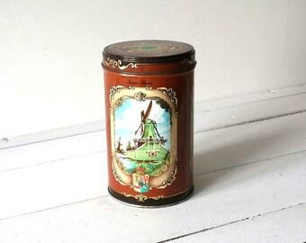 Old round tin 'Zaansche koeken'