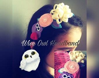 Crafty Owl Headband