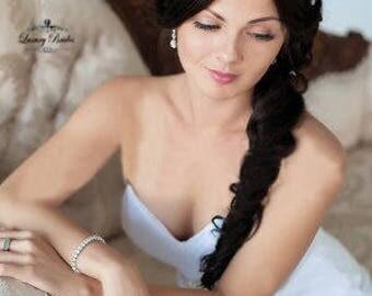 Crystal Wedding Tiara, Bridal Tiara, Wedding Crown, Princess Tiara, Wedding Tiara, Crystal Wedding Crown, Bridal Crown, Luxury Tiara