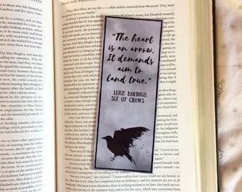 Six of Crows Leigh Bardugo Quote Bookmark