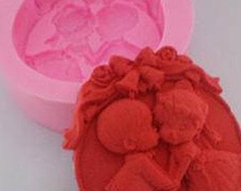 Bride & Groom Soap Mold