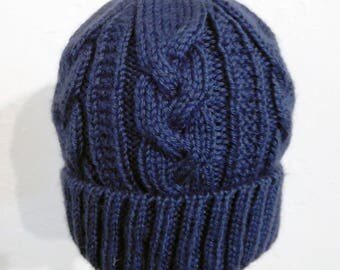 Welsh-Inspired Knit Hat