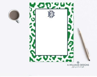 Monogrammed Notepads/Custom Notepads/Personalized Notepad/Things to do