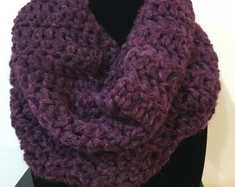 Chunky Cowl Neck Scarf - 3 colors available