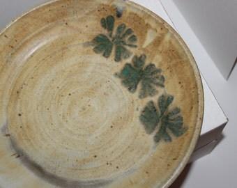 Large Handmade Earthtone Bowl