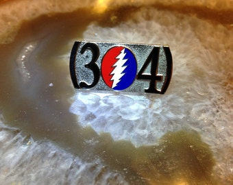 HAT PIN: Grateful Dead X 314 Area Code / St. Louis, MO Family!