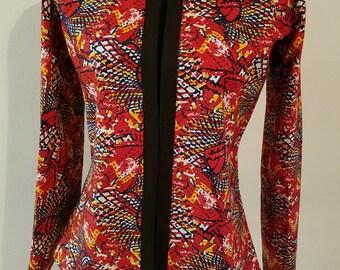 Ankara women jacket. Ankara women blazer. Ankara fashion. Women jacket. Women blazer. Blazer for women. Jacket for women