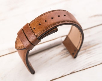 Watch strap Watch band Leather watch band Leather watch strap Mens watch straps Watch straps Watch bands 16 mm 18mm 20mm 22mm 24mm 26mm