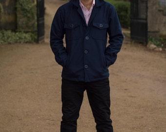 Mens Wool Winter Jacket