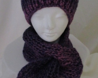 KNIT Hat and Neckwarmer